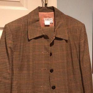 Talbots 2 piece 2 sizesuit( size 12 jacket 16 pts)